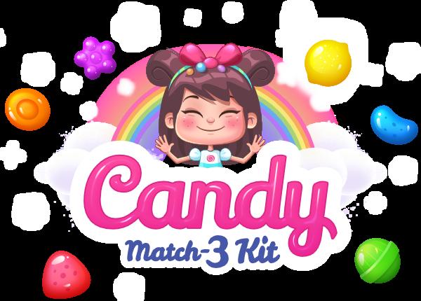 Candy Match 3 Kit – gamevanilla
